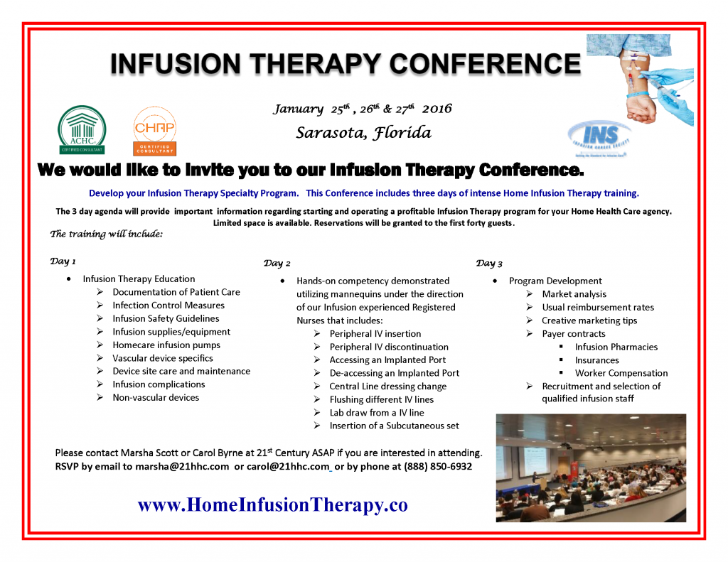 Infusion flyer for website